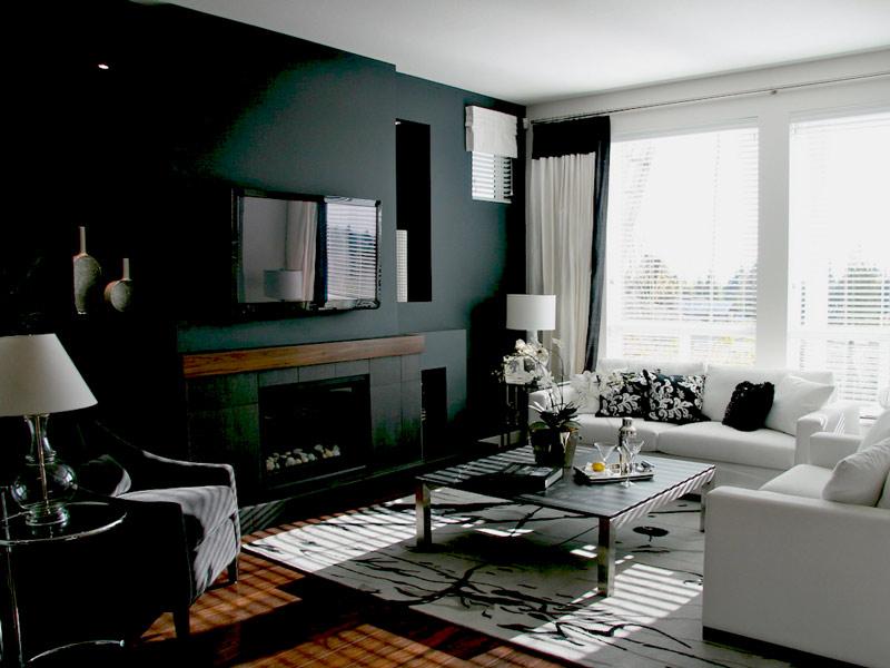 رنگ اتاق نشیمن - زندگی بانوی شهر