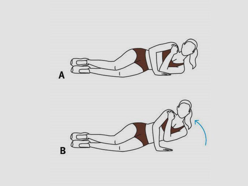 تمرینات تقویت عضلات پشت بازو - شادابی و سلامتی