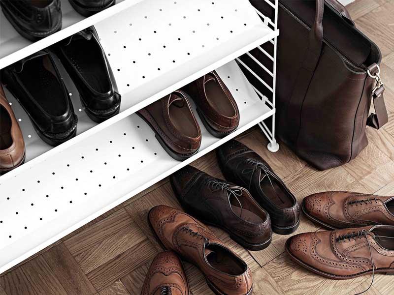 کفش چرم - زندگی بانوی شهر