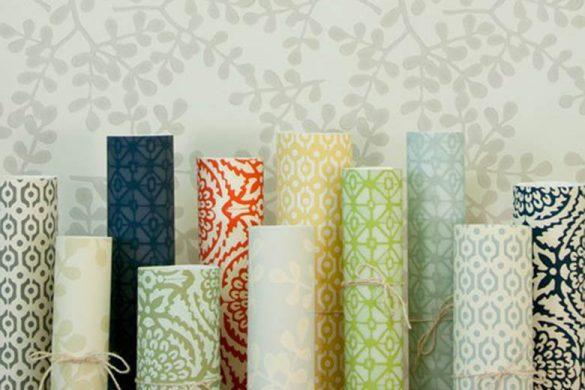 استفاده از کاغذ دیواری در دکور خانه