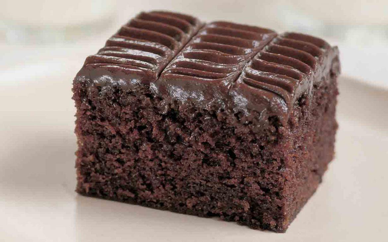 کیک فاج شکلاتی