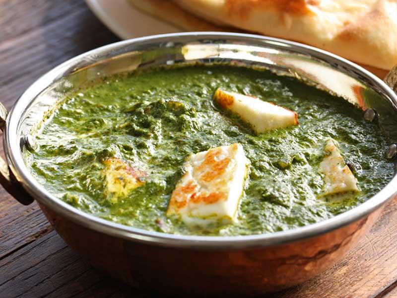 پالاک پنیر هندی