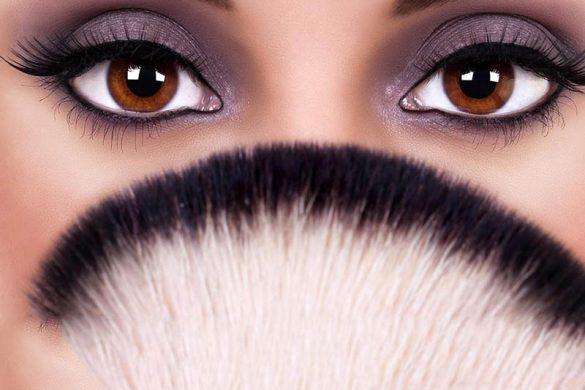 آرایش دودی برای چشم های قهوه ای