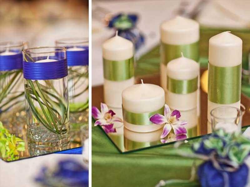 آموزش ساخت شمع های زیبا برای سفره هفت سین