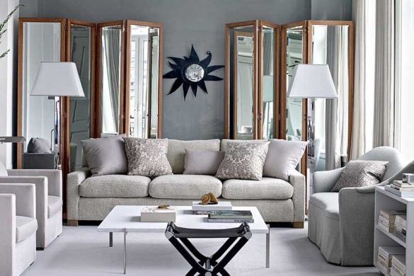 چگونه از رنگ خاکستری در دکوراسیون خانه استفاده کنیم؟