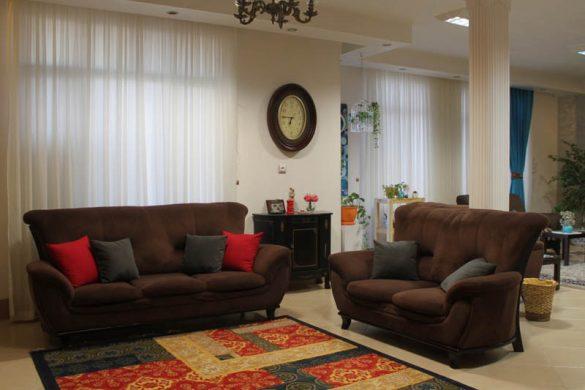 استفاده از رنگهای گرم در دکوراسیون خانه