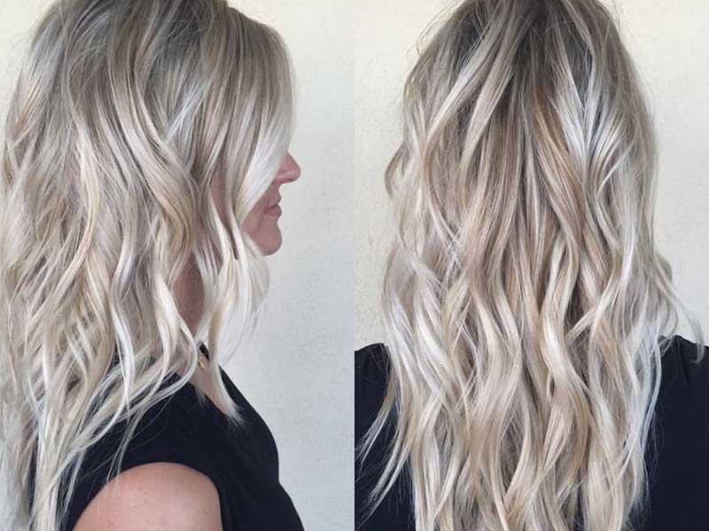 رنگ موی بلوند دودی - مد و زیبایی