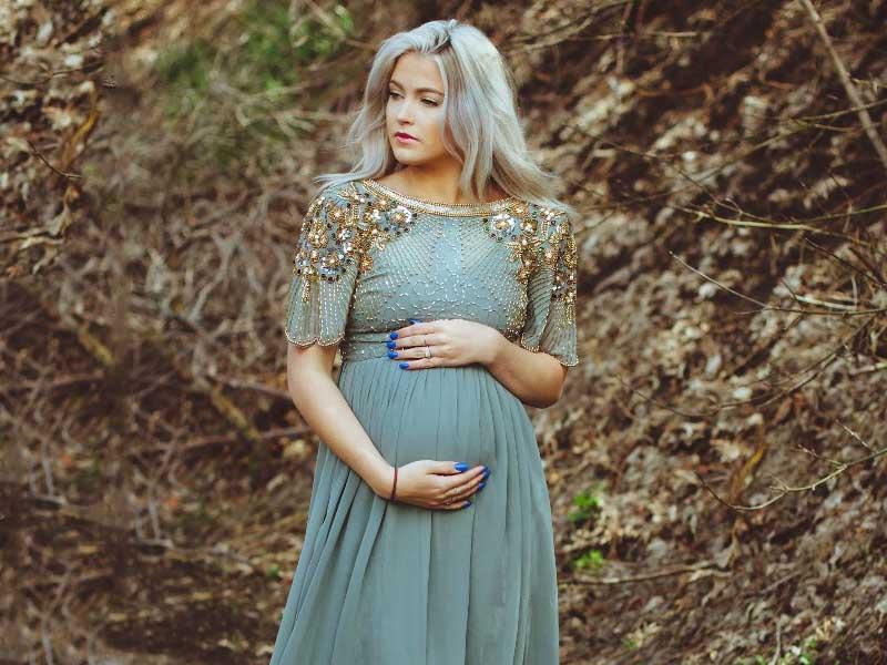 پیراهن بارداری - پیراهن گشاد و آزاد