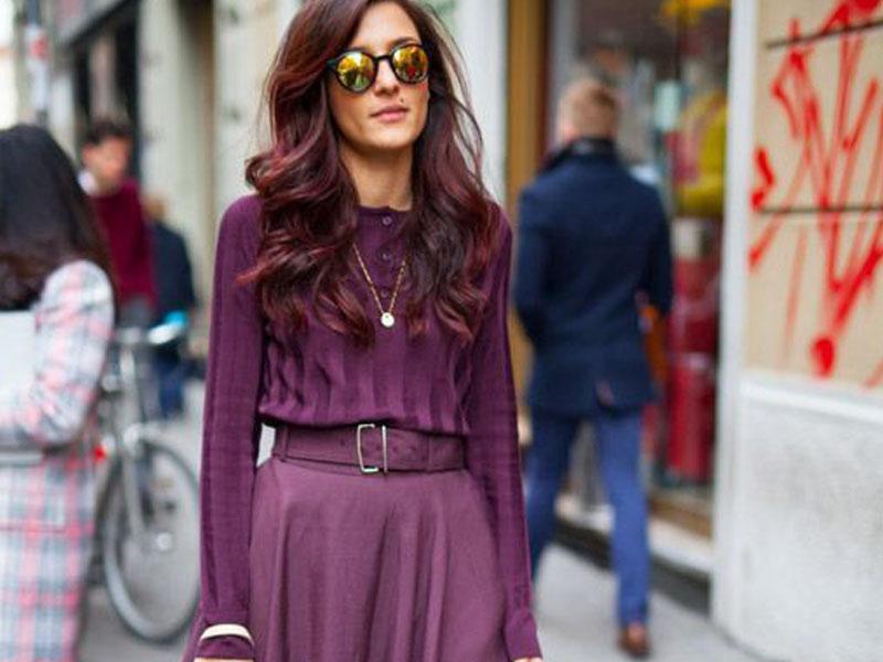 لباس های تک رنگ - مد و زیبایی
