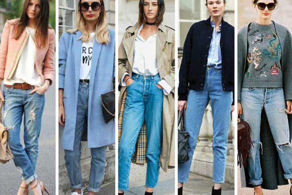 اسم ها و مدل های مختلف شلوار جین زنانه