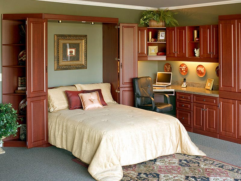 تخت تاشو - اتاق چند منظوره