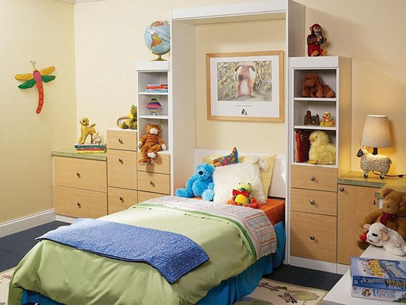 تخت تاشو - خالی کردن فضای کف اتاق