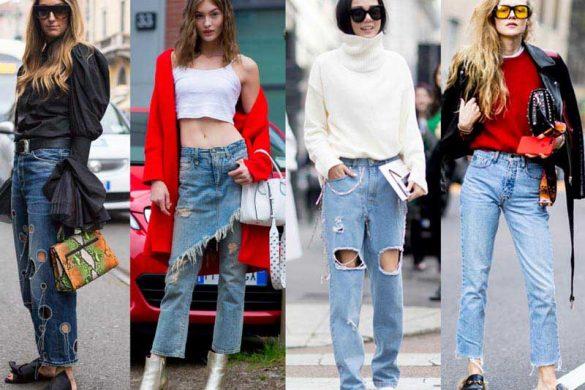 3 مدل محبوب شلوار جین در پاییز 2017