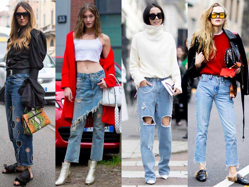 ۳ مدل محبوب شلوار جین در پاییز ۲۰۱۷