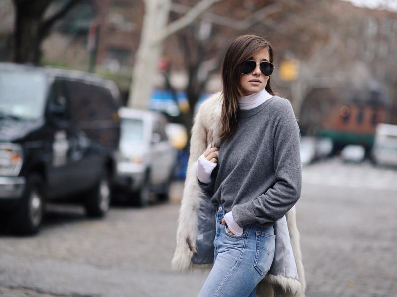 لباس یقه اسکی - مد زیبایی
