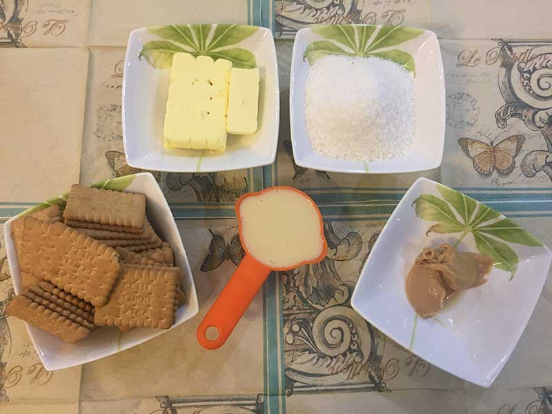 شیرینی نارگیلی کاراملی - دستپخت بانوی شهر