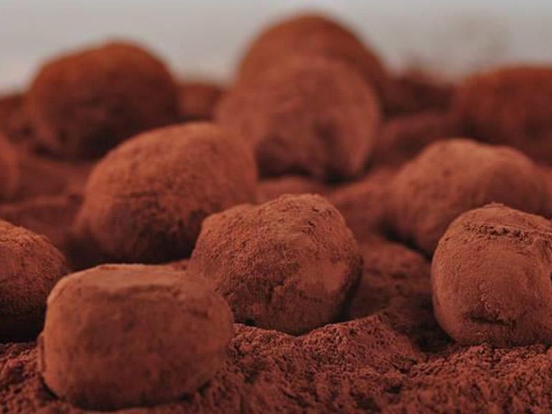 ترافل شکلاتی - دستپخت بانوی شهر