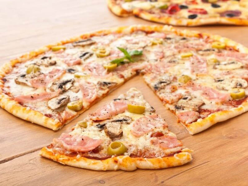 خمیر پیتزا - دستپخت بانوی شهر