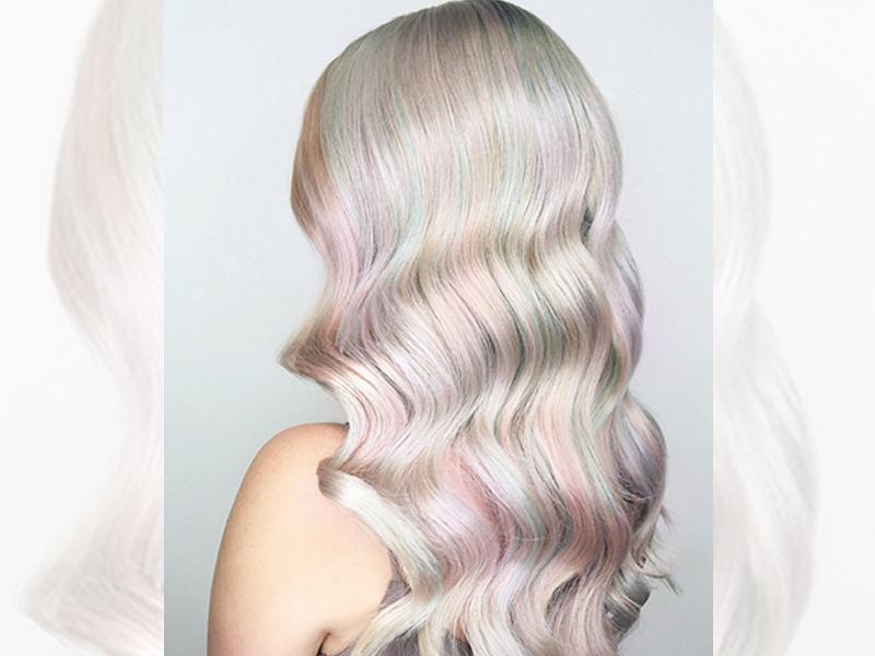 رنگ موی اوپال