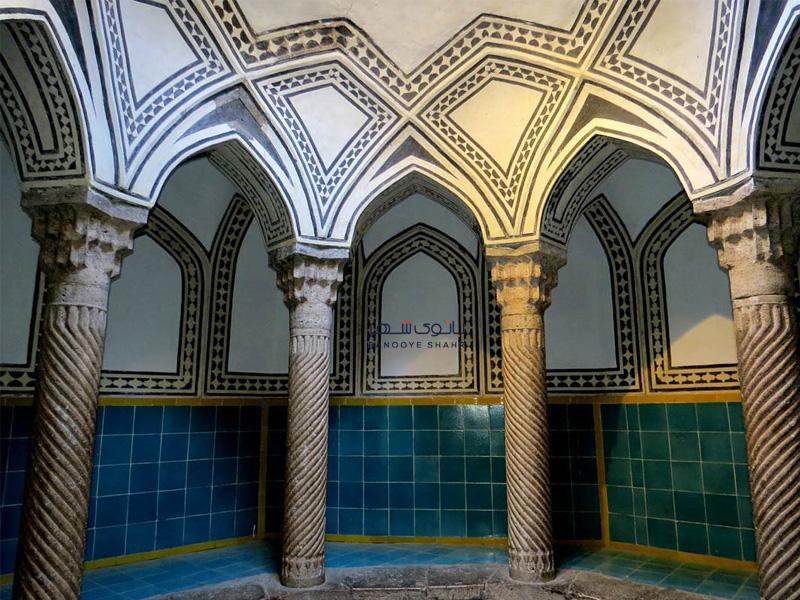 حمام عمارت آصف وزیری