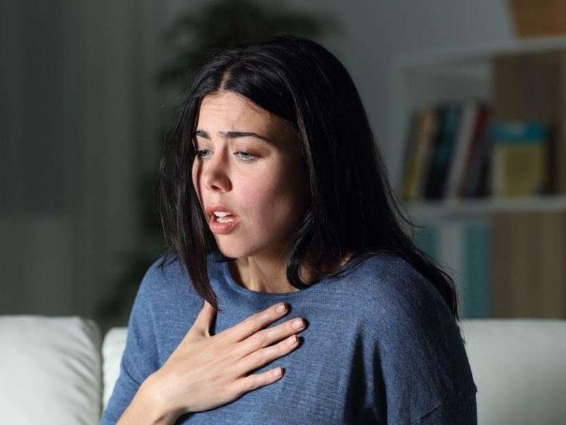 درمان تنگی نفس با مواد شوینده