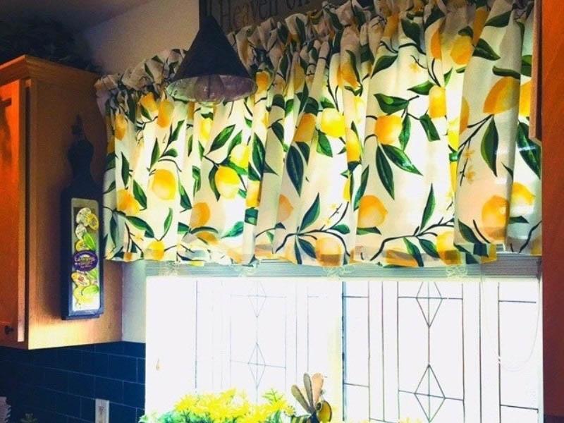 tags - kitchen curtains5 medium banooyeshahr - جدیدترین و مدرن ترین مدل های پرده آشپزخانه در سال 2020 - decoration-and-arrangement%